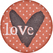 Going To The Bookstore Round Sticker Love