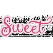 Sweet Autumn Sweet Word Art