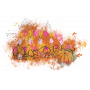 Sweet Autumn Mini Element Paint Transfer