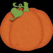 Sweet Autumn Mini Element Sticker Pumpkin Alt