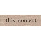 Sweet Autumn Mini Element Word Art Snippet Moment