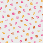 Sweet Autumn Add-On Leaves Paper