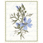 Chicory Lane Element Postage Stamp
