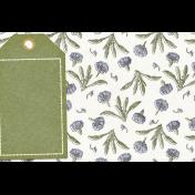 Chicory Lane Tag 4x6 Journal Card