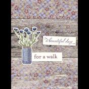 Chicory Lane Wood 3x4 Journal Card
