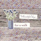 Chicory Lane Wood 4x4 Journal Card