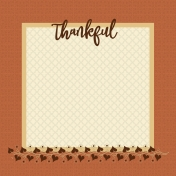 Give Thanks- Pattern Paper 9