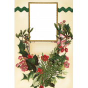 Merry and Bright Christmas- Photo Frame 1