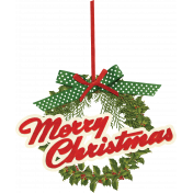 Merry and Bright Christmas- Wordart 2