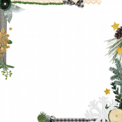 Woodland Wonderland- Page Border 1