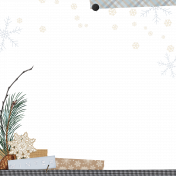 Rustic Winter - Page Border 1