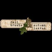 Simply Autumn- Wordart 2