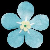 Nature Escape-Blue Flower