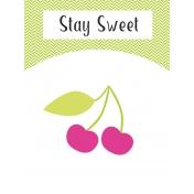 Summer Lovin-Journal Card Cherry