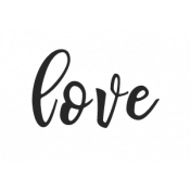 Enjoy Each Moment Word Art- love