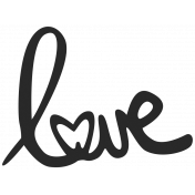 Love Knows No Borders- Love Word Art