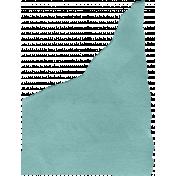 Paper piece teal