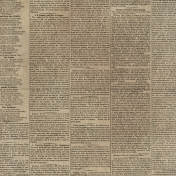Black, White, and Read All Over- Newsprint Paper 2