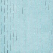 My Funky Valentine- Blue Line Pattern Paper