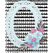 My Funky Valentine - Oval Cluster Frame