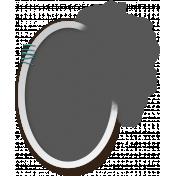 My Life Palette - Stapled Oval Spill Frame