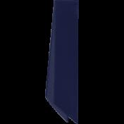 My Life Palette- Folded Ribbon (Navy Satin)