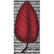 My Life Palette- Leaf (Burgundy Doodle)