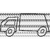 Sandbox Outline Truck 2 Template