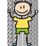 People Kit 005 Kid 02 Color