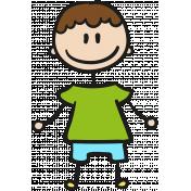 People Kit 005 Kid 04 Color