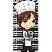 People Kit 003 Chef