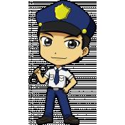 People Kit 003 Police
