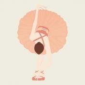 Ballet Pocket Card Ballet Girl2