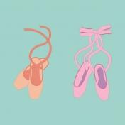 Ballet Pocket Card Ballet Shoes