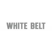 Karate White Belt Word Art