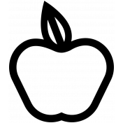 Tooth Fairy Apple Template