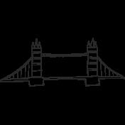 Tower Bridge Illustration