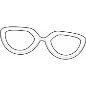 Summer Splash 1 Sunglasses 2 Template