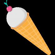 Summer Splash Illustrations 1 Ice Cream