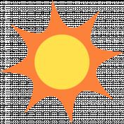 Summer Splash Illustrations 1 Sun
