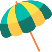 Summer Splash Illustrations 1 Umbrella