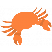 Summer Splash Illustrations 2 Crab