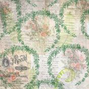 Garden Wreath Paper