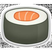 Sushi Set- Sticker 9