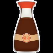 Sushi Set- Soy Bottle