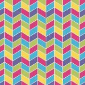 Raindrops & Rainbows- 3x3 Filler Card 4
