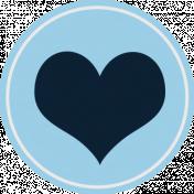 Treasured Mini Kit- Heart Tag