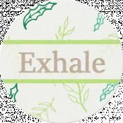 Nature Escape- Exhale Label