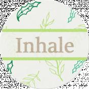Nature Escape- Inhale Label