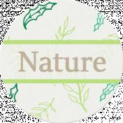Nature Escape- Nature Label